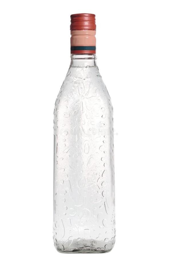 Botella de vodka foto de archivo libre de regalías