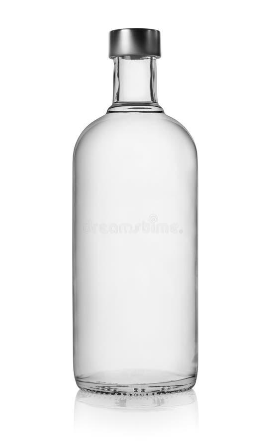 Botella de vodka foto de archivo