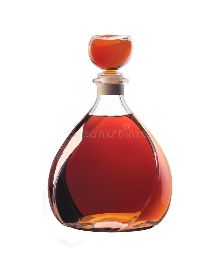 Botella de whisky imagen de archivo libre de regalías