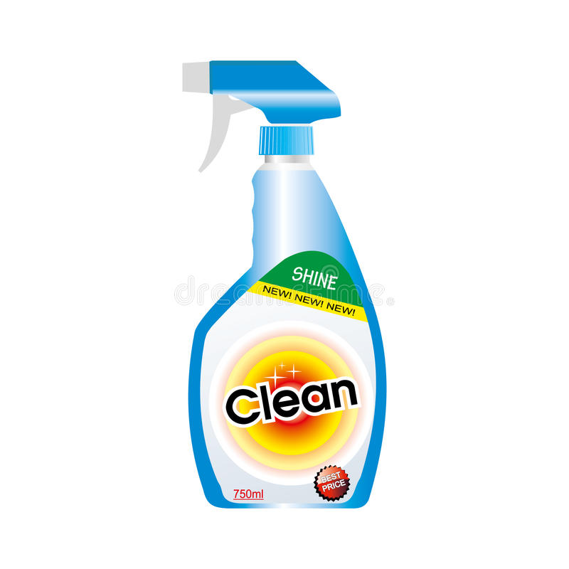 Botella del aerosol libre illustration