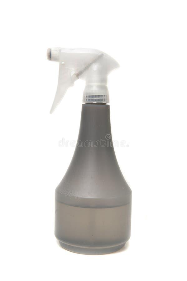 Botella del aerosol de agua foto de archivo libre de regalías