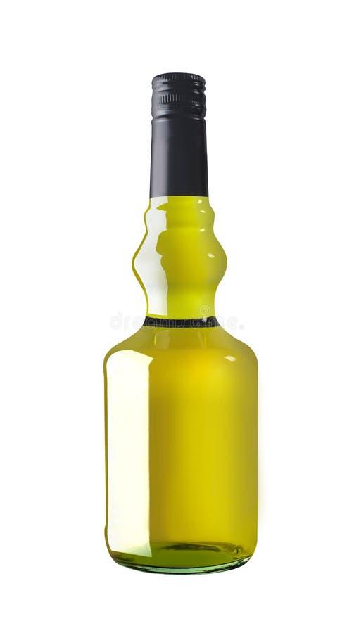 Botella del licor fotos de archivo libres de regalías