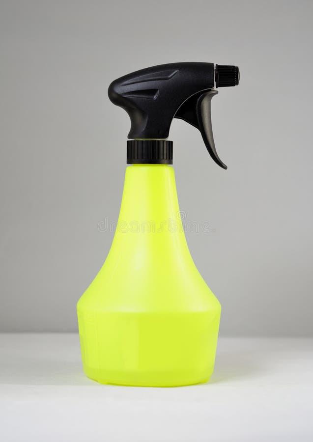 Botella del rociador de la bomba imagen de archivo