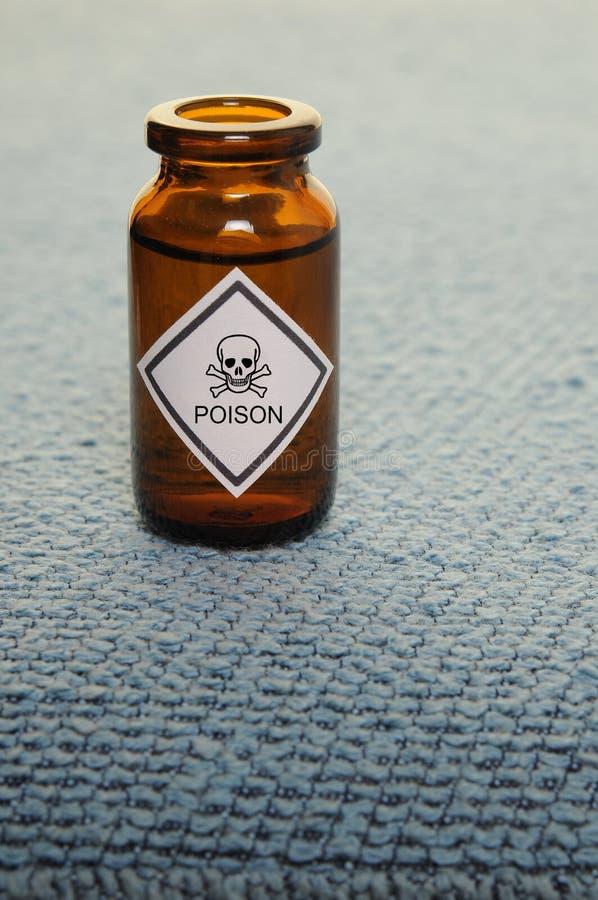 Botella del veneno fotos de archivo