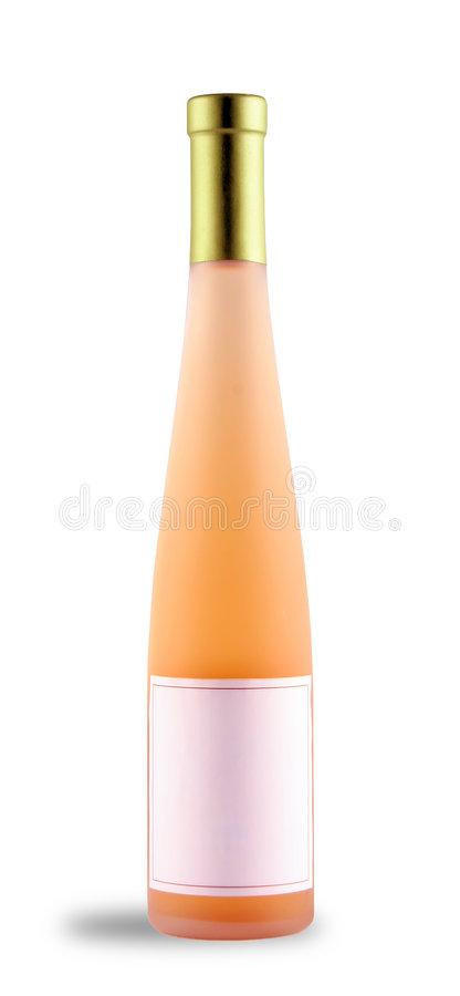 Botella del vino de mesa foto de archivo libre de regalías