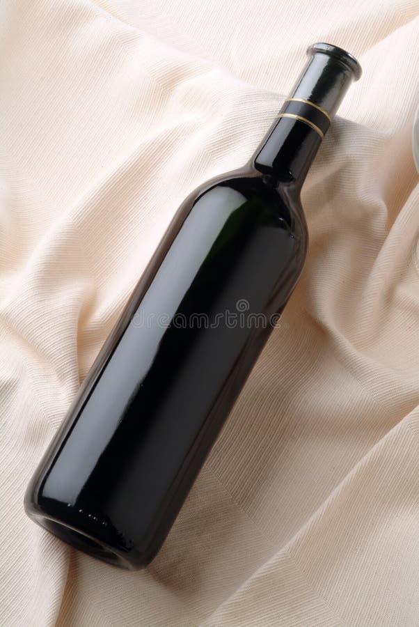 Botella descubierta fotografía de archivo