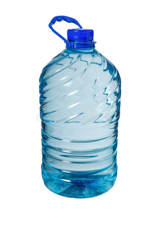 Botella grande de agua aislada en un fondo blanco foto de archivo