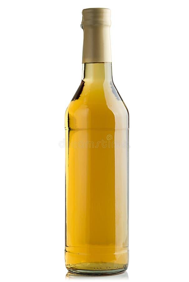 Botella llena de whisky imagen de archivo