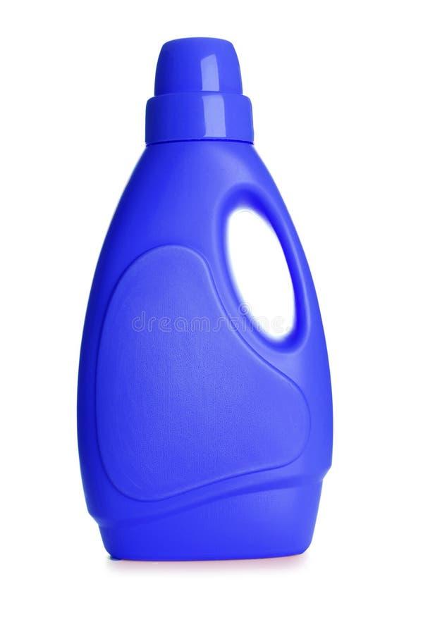 Botella plástica, foto de archivo libre de regalías