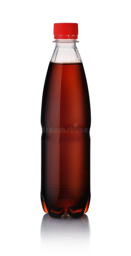Botella plástica de cola imagen de archivo libre de regalías