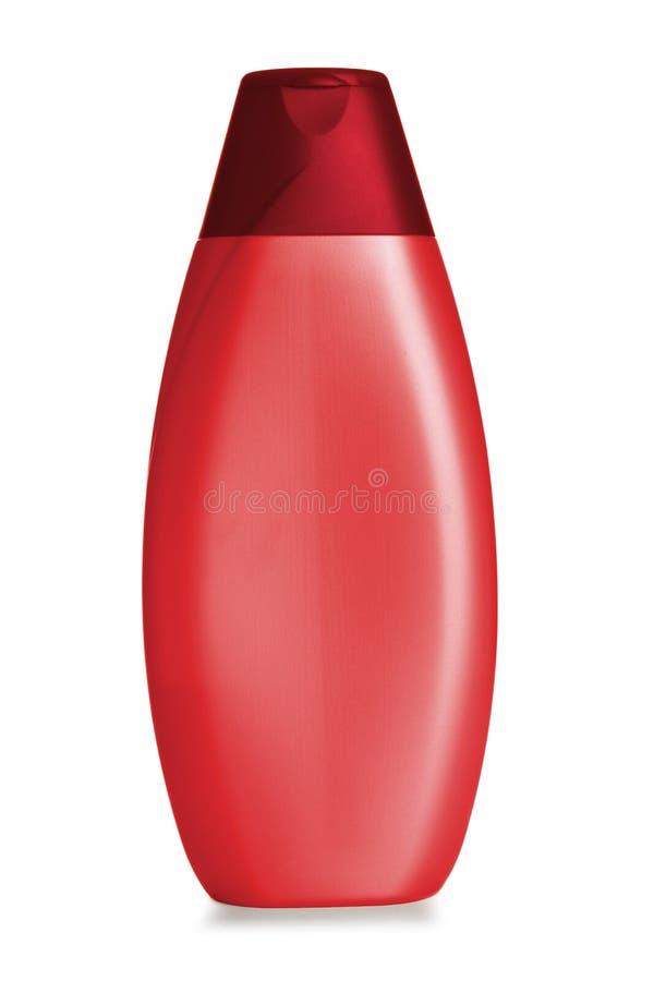 Botella plástica del champú, imágenes de archivo libres de regalías