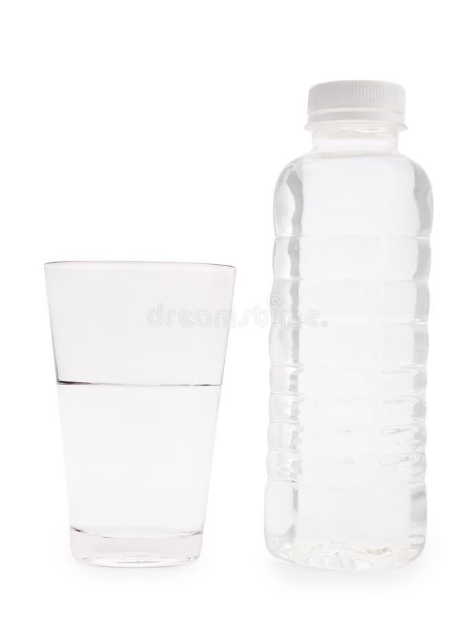 Botella transparente y vidrio pl sticos aislados imagen de archivo imagen de sano limpio - Vidrio plastico transparente precio ...