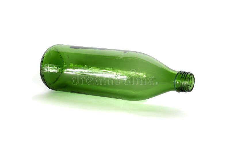Botella vacía imágenes de archivo libres de regalías