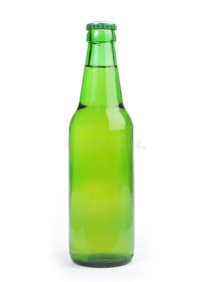 Botella verde foto de archivo libre de regalías