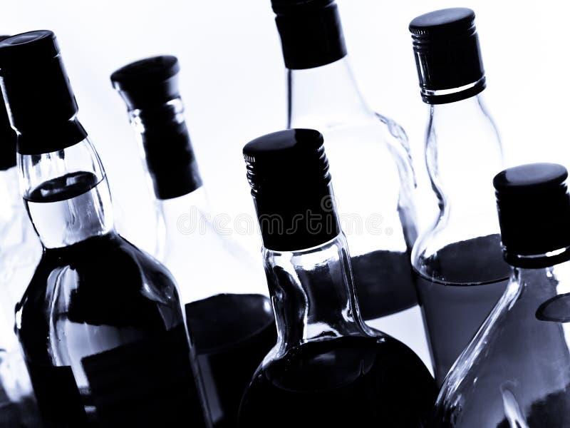 Botellas fotografía de archivo