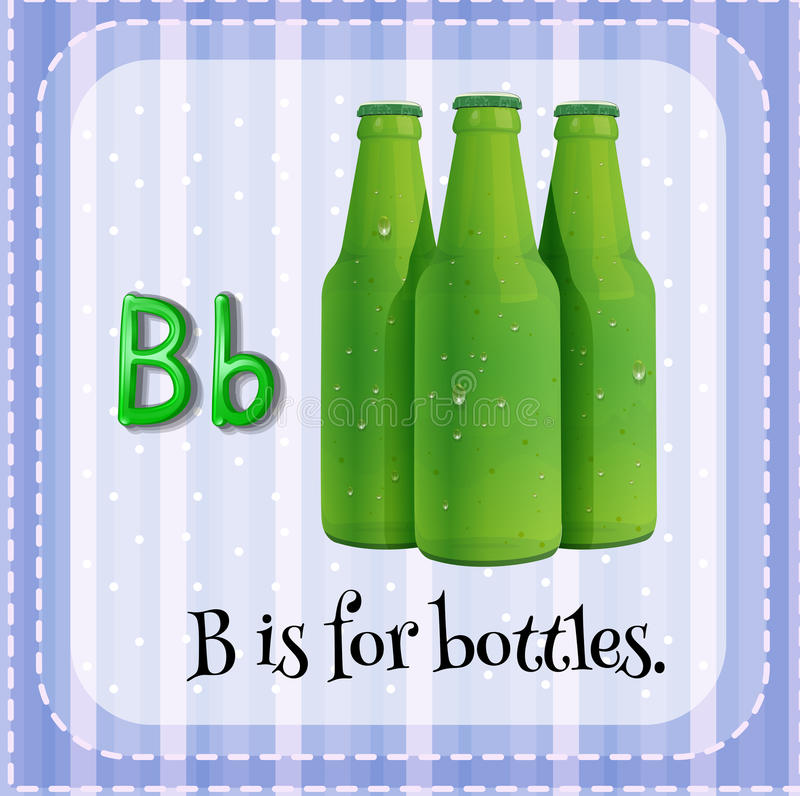 botellas stock de ilustración