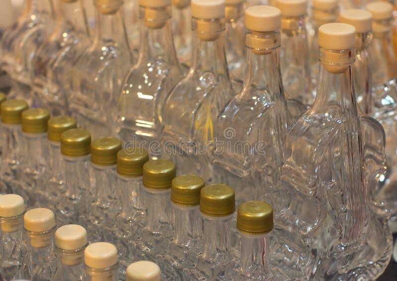 Botellas artísticas imagen de archivo
