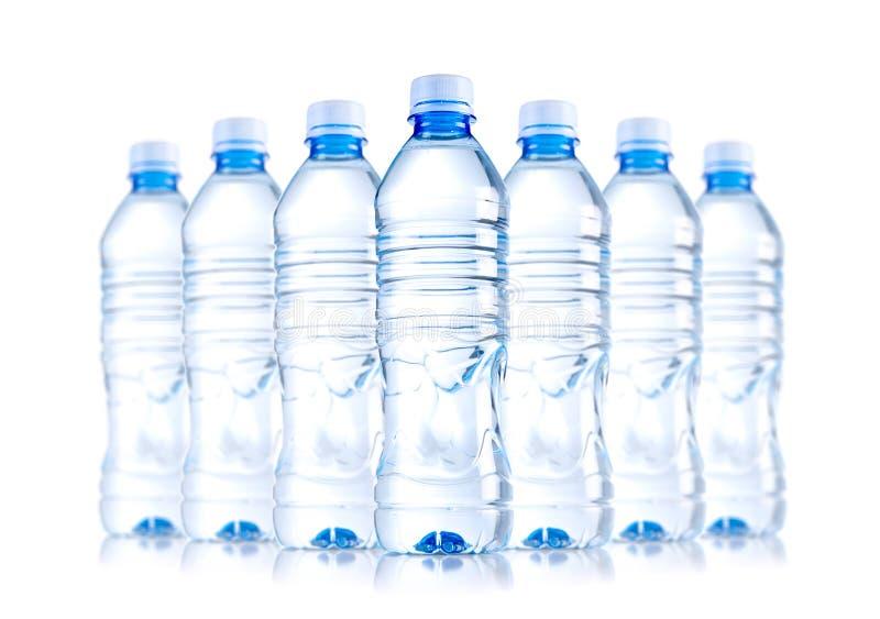 Botellas de agua imágenes de archivo libres de regalías