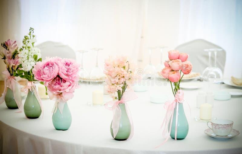 Botellas de la flor fotos de archivo