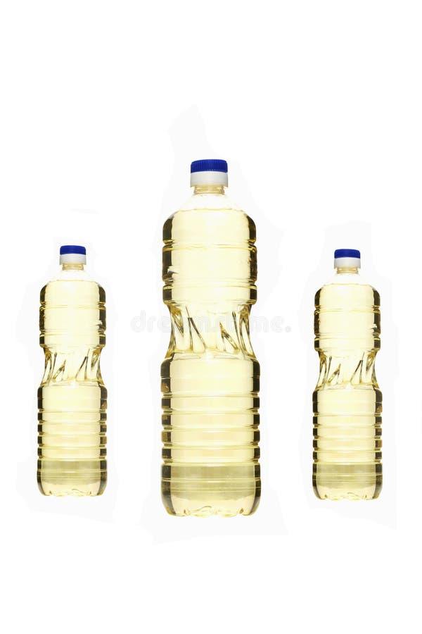 Botellas de petróleo foto de archivo libre de regalías