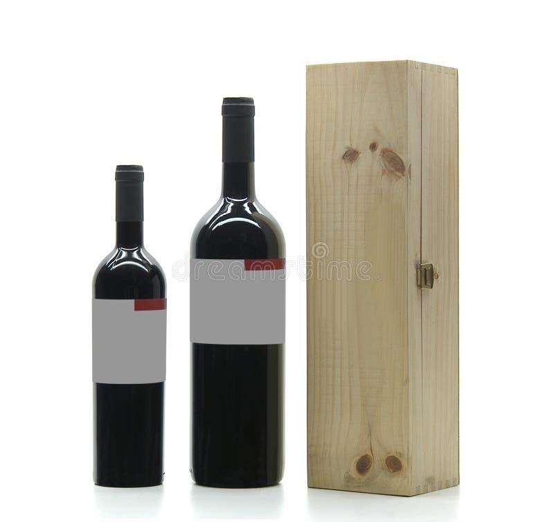Download Botellas de vino imagen de archivo. Imagen de madera, rectángulo - 186847