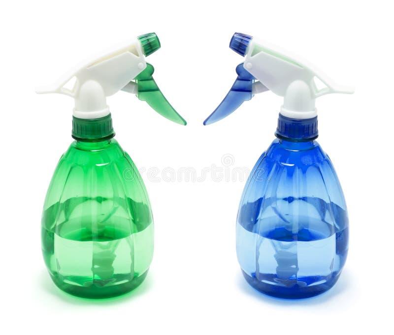 Botellas del aerosol imagen de archivo libre de regalías