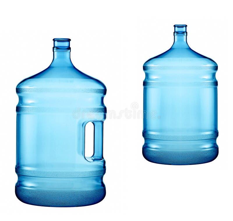 Botellas grandes de agua pura foto de archivo