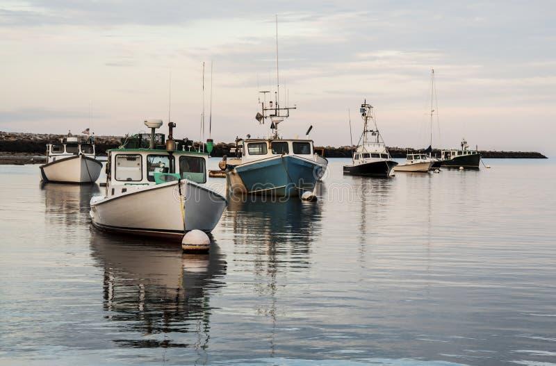 De boten van Maine royalty-vrije stock afbeelding