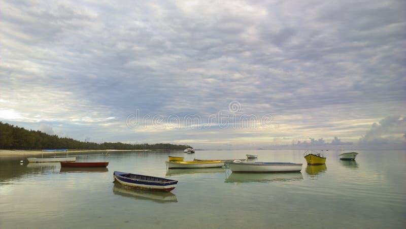Boten op het Water stock foto