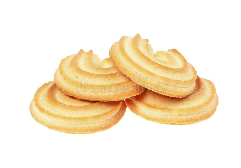Boter koekjes stock foto's