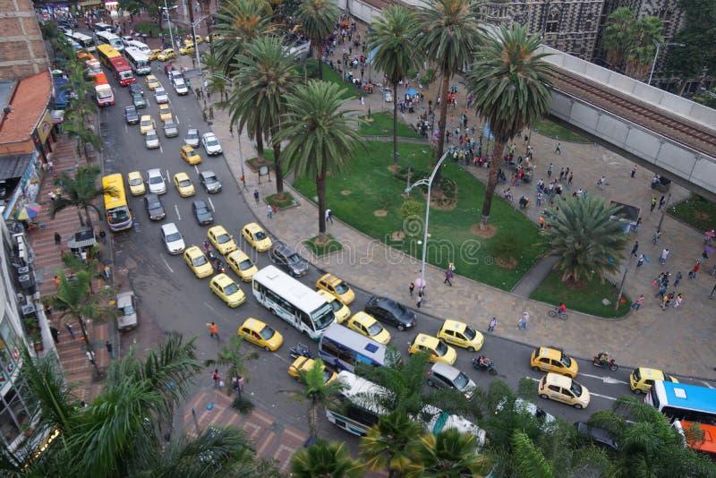Botero广场在麦德林哥伦比亚 图库摄影
