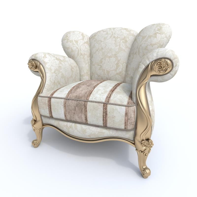 Botero椅子 皇族释放例证