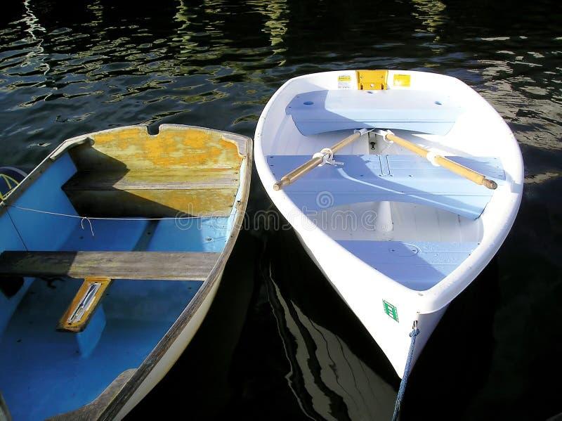 Botes de remos fotografía de archivo