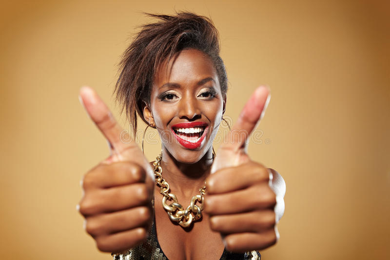 Download Both thumbs up stock image. Image of happy, disco, self - 22100153