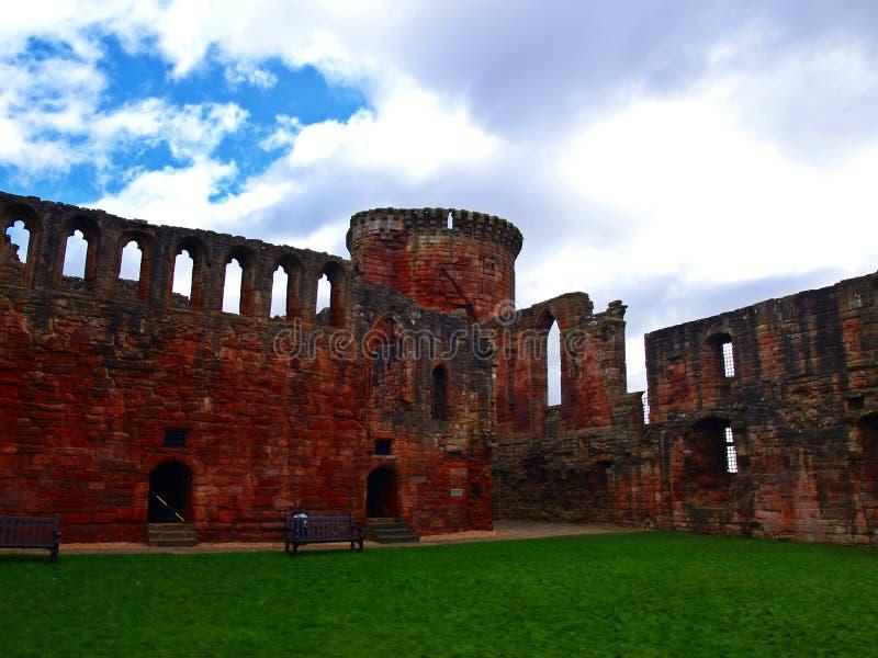 Bothwell Castle stock images
