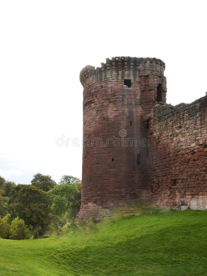 Bothwell Castle stock image