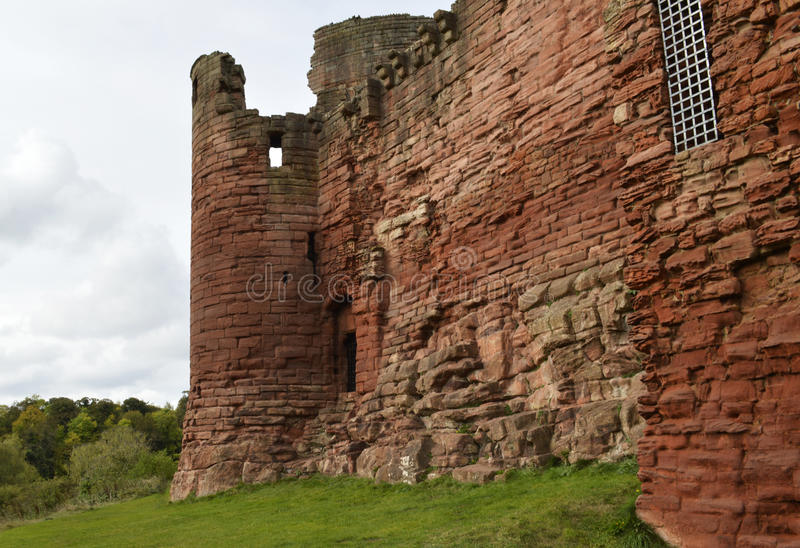 Bothwell Castle royalty free stock images