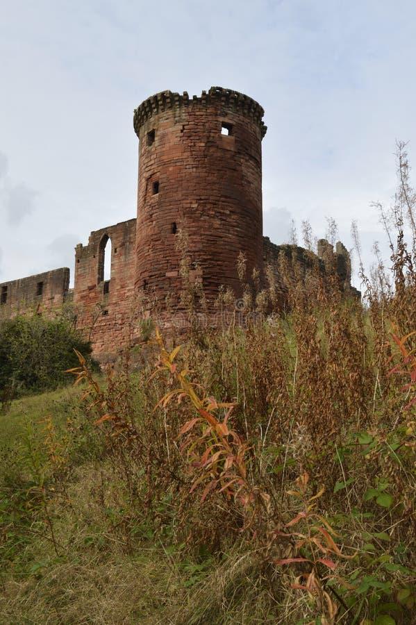 Bothwell Castle stock photos