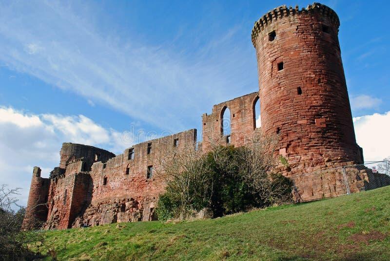 Bothwell Castle, Scotland stock photography