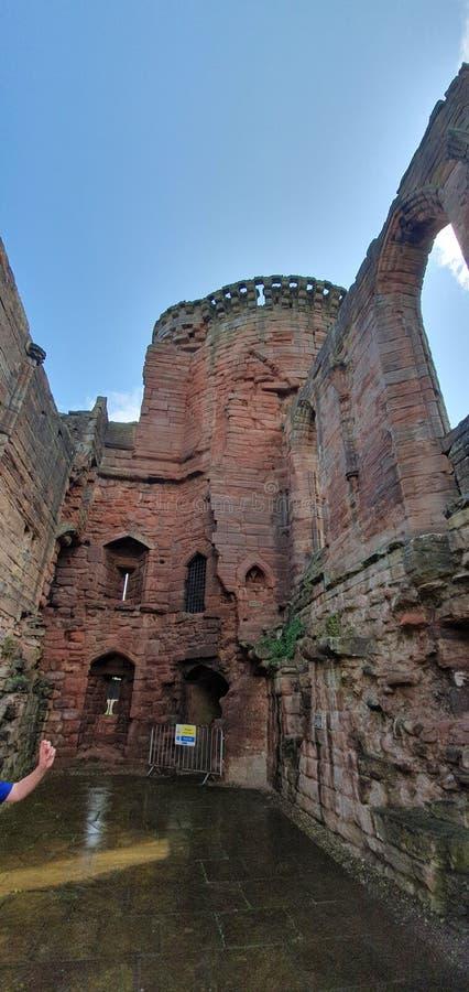 Bothwell Castle stock photography
