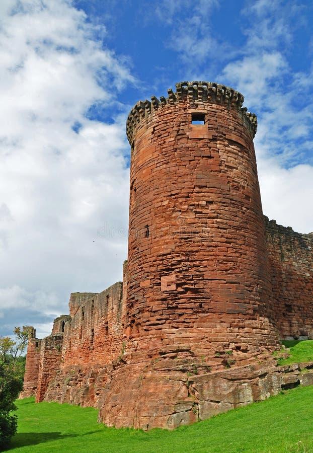 Bothwell Schloss in Schottland stockfotografie