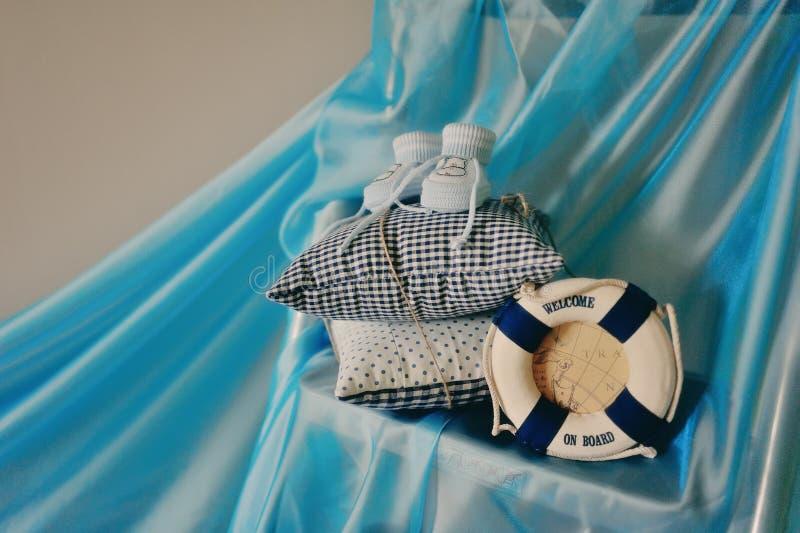 Botines del bebé fotografía de archivo