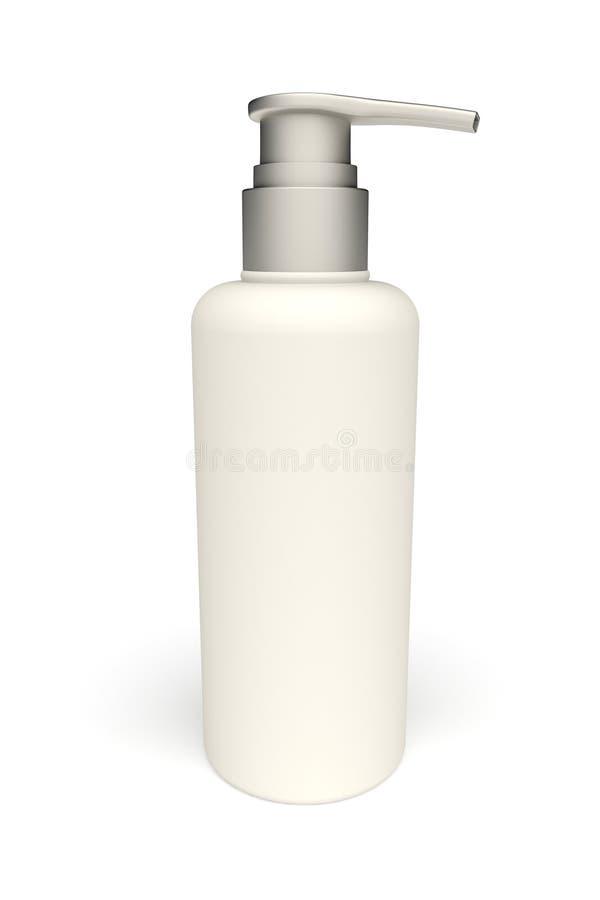 botle do plástico 3d ilustração do vetor