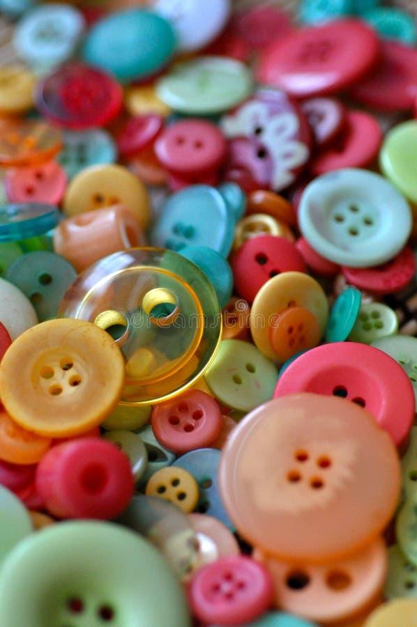 Botones coloridos imagenes de archivo