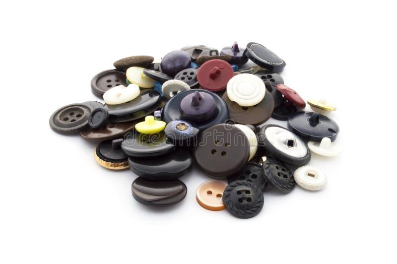 Botones de costura fotografía de archivo