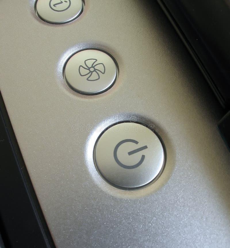 Botones del cuaderno imagen de archivo