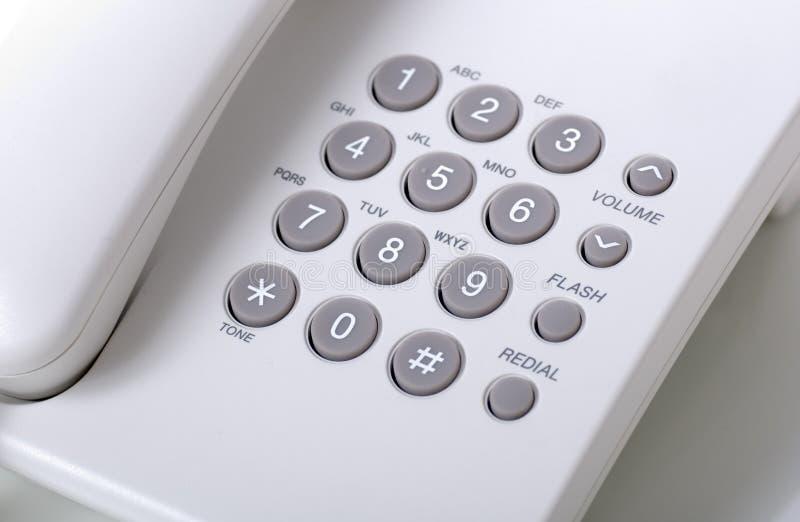 Botones del dial fotos de archivo