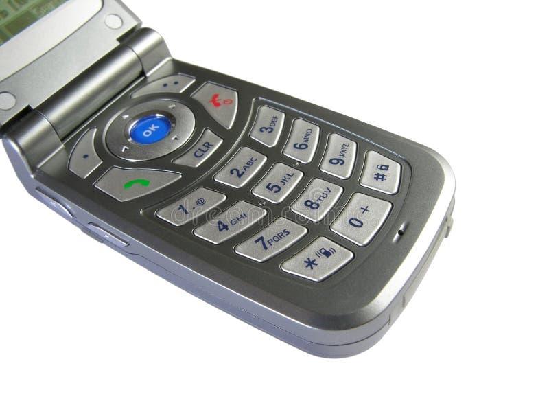 Botones del teléfono móvil imágenes de archivo libres de regalías