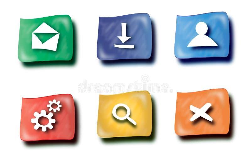 Download Botones del Web stock de ilustración. Ilustración de libre - 41907946