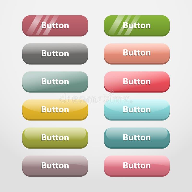 Botones del Web Las manos del alfarero de la parte II libre illustration